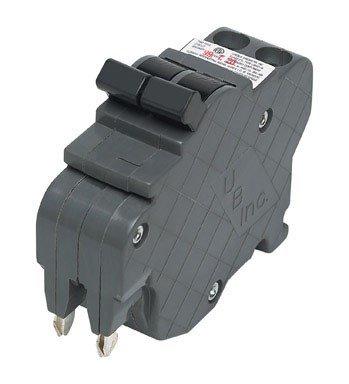 View-Pak/Unique Breaker UBI-F0230N Unique Dual Pole Thin Federal Pacific Circuit Breakers, Black