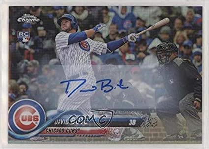 Amazoncom David Bote Baseball Card 2018 Topps Chrome