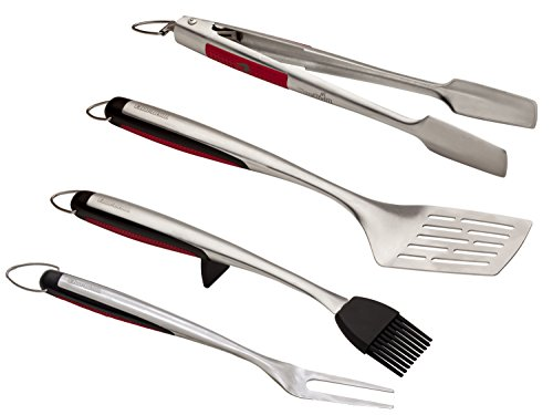 Char-Broil 4 Piece Comfort Grip Tool Set 4 Piece Comfort Grip