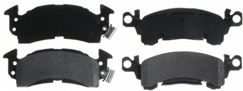 1969 El Camino Disc Brake - Raybestos SGD52M Service Grade Semi-Metallic Disc Brake Pad Set