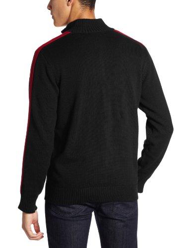 U.S. Polo Assn. Men's Full Zip Sweater with Sleeve Stripe