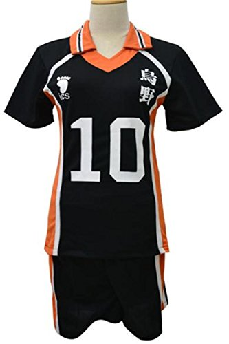 LDamcom Haikyuu Costume Uniform Hinata Kageyama Cosplay (Haikyuu Cosplay Costume)