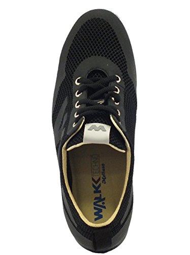 In Nero Melluso Tessuto Sneakers Donna Tecnico ERwCYqw