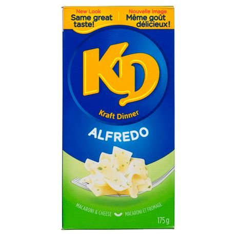 Kraft Dinner Alfredo Macaroni & Cheese, 175g, 6.17oz {Imported from Canada} (Kraft Dinner From Canada)