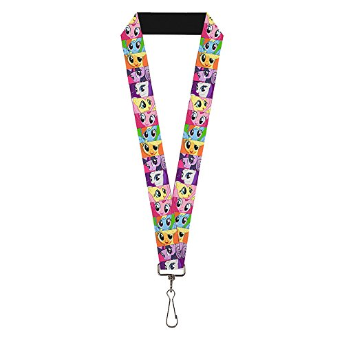 My Little Pony Friendship is Magic Characters Lanyard | Swivel Hook Attachment - Made in the USA