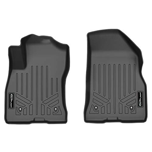 MAX LINER A0430 Custom Fit Floor Mats 1st Row Liner Set Black for 2015-2019 Ram ProMaster City