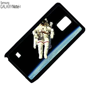 Nasa Astronaut in space Samsung Note 4 PLASTIC cell phone Case / Cover Great Gift Idea