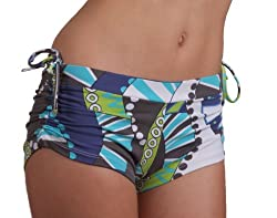 Margarita Activewear Wild Jungle Pattern Shorts