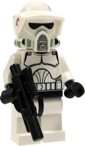 (LEGO Star Wars LOOSE Mini Figure EPII Clone Wars ARF Clone Trooper with Blaster)