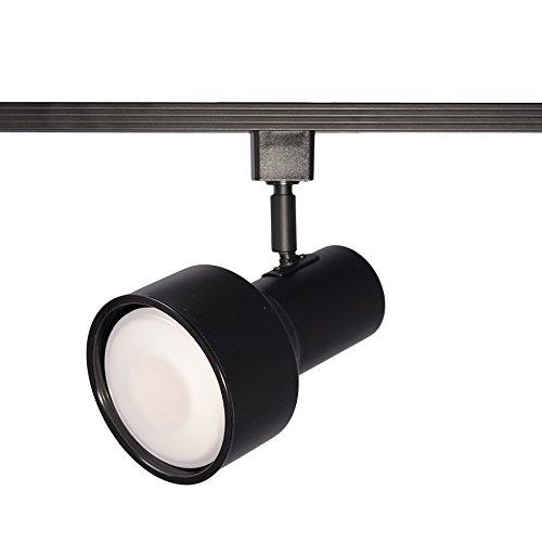WAC Lighting HTK-703 Line Voltage Track Head in Black for H Track in Black Finish