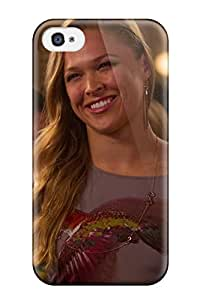 Tpu Case For Iphone 4/4s With Ronda Rousey