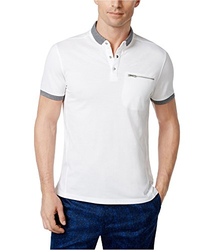ni Contrast Rugby Polo Shirt White S ()