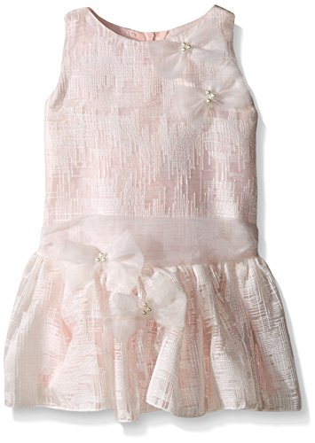 Biscotti Baby Tea Party Drop Waist Dress, Pink, 18 Months