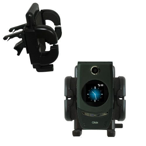 Gomadic Air Vent Clip Based Cradle Holder Car / Auto Mount suitable for the HTC 3125 (Htc 3125 Accessory)