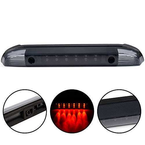 Third 3rd Brake Cargo Light Assembly Fit For 2001 2002 2003 2004 Nissan Frontier Pickup Rear Roof Center High Mount Stop Tail Lamps Replacement