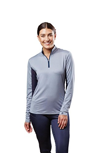 Dublin Airflow Cdt Long Sleeve Tech Top Grey Ladies Small