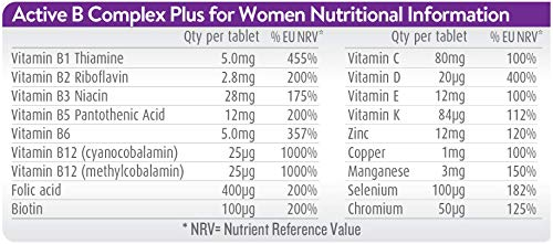 Active-Iron-B-Complex-Plus-For-Women-30-Iron-Tablets-30-Vitamin-B-Tablets-Iron-Supplement-With-Vitamin-B-Complex-Formula-Non-Constipating-Absorption-Scientifically-Tested-1-Month-Supply