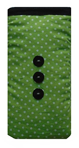 Polka Dot Vert iPhone 6 Sock / pochette / Case