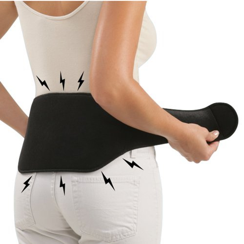 (Therapeutic Back Support (Large Black))