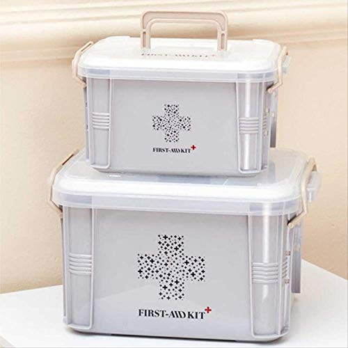 SMEI Medicine Box First Aid Kit Boîte De Plastique Container Emergency Kit Portable Multi-layer Large Capacity Storage… 3