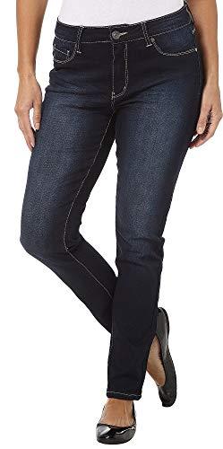 Royalty by YMI Stretch Skinny Jeans 6 Dark Blue wash