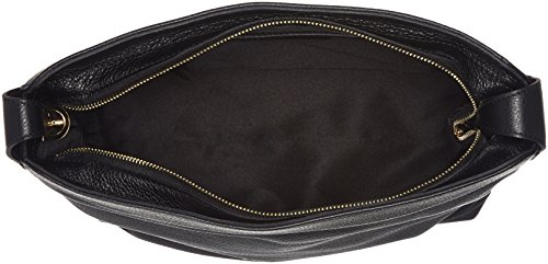Caterina Lucchi Le Fibbie - Borse a spalla Donna, Schwarz (Black), 13x31x30 cm (B x H T)
