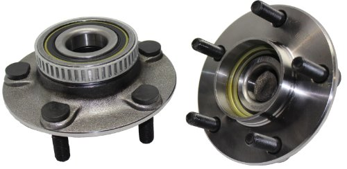 Brand New (Both) Rear Wheel Hub and Bearing Assembly for Intrepid, Concorde, New Yorker 5 Lug W/ABS (Pair) 512029 x2