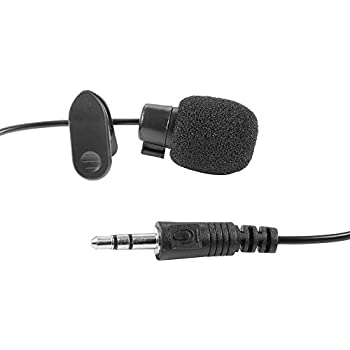 Neewer 3.5mm Hands-free Computer Clip on Mini Lapel Microphone