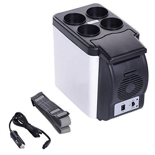 Portable 12V 6L Car Small Refrigerator Mini Compact Cooler Fridge Freezer Camp