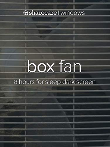 (Box Fan 8 hours for sleep)