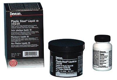 Devcon Plastic Steel Liquid (B), 1 lb, Dark Grey by Devcon