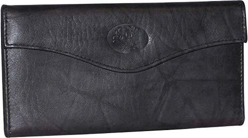 Buxton RFID Organizer Clutch Wallet One Size Black