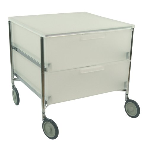 Kartell 2005L1 Mobile Container 2 Drawer system