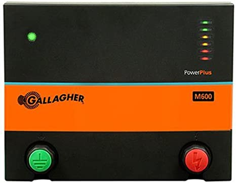 Amazon.com : Gallagher G381504 M600 110-volt Fencer, 150 Acre/25-Mile :  Agricultural Fences : Garden & Outdoor