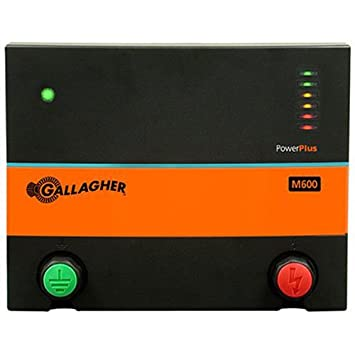 Gallagher 85 Acre Electric Fence Charger,Part G380504 Stored energy of multiwir