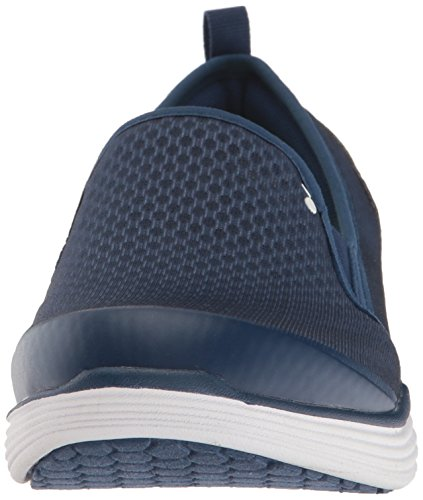 Ryka Womens Neve Fashion Sneaker, Navy/Lime, 10 M US