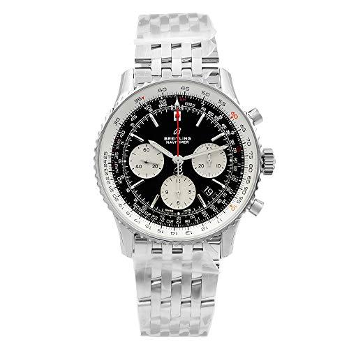 Breitling Navitimer 1 B01 Chronograph 43 Steel Men's Pilot Watch AB0121211B1A1