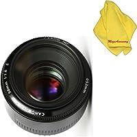 Canon 50mm 1.8 II Lens + MEGAACC Microfiber Cloth