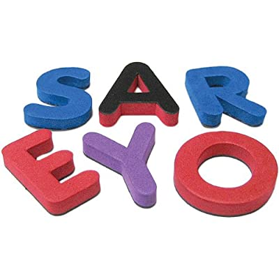 Magnetic Foam: Small Uppercase Letters: Office Products