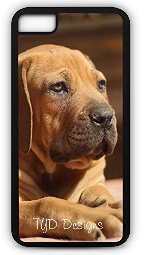 iPhone 6s Case Ballotade Boerboel Peanut Bulldog Puppy Customizable by TYD Designs in Black Rubber