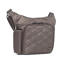 Lug Sidecar Cross Body and Waist Pack Messenger Bag, Walnut Brown