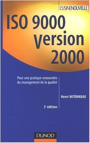 Téléchargement ISO 9000 version 2000 pdf