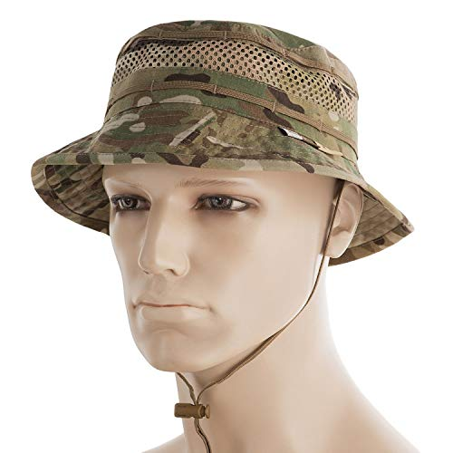 - M-Tac Boonie Hat Multicam Military Tactical Mens Army Panama with Mesh (Multicam, M)