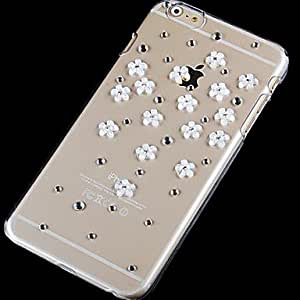 LCJ Daisy with Drill Pattern Hard Back Case for iPhone 6 Plus