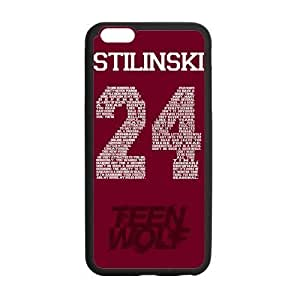 Customize TPU Gel Skin Case Cover for iphone 6+, iphone 6 plus Cover (5.5 inch), Teen Wolf