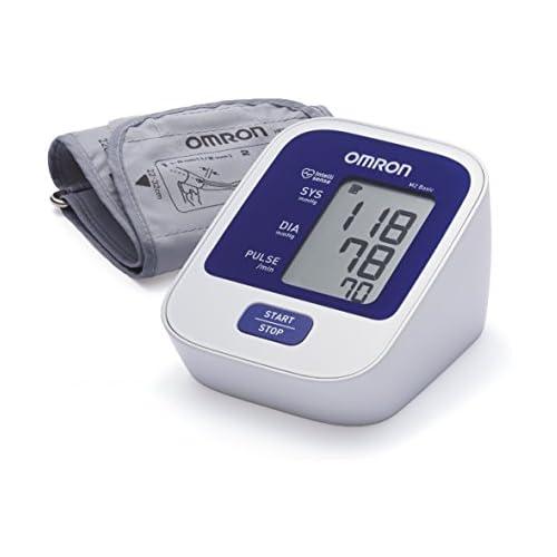 chollos oferta descuentos barato OMRON M2 BASIC Tensiómetro de Brazo digital Blanco y Azul