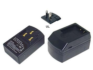 Amazon.com: Cargador de batería para Fujifilm FinePix F100fd ...