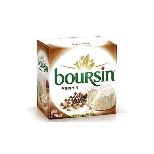 Boursin - Cracked Peppercorn (5 ounce) (Spread Pepper Cheese)