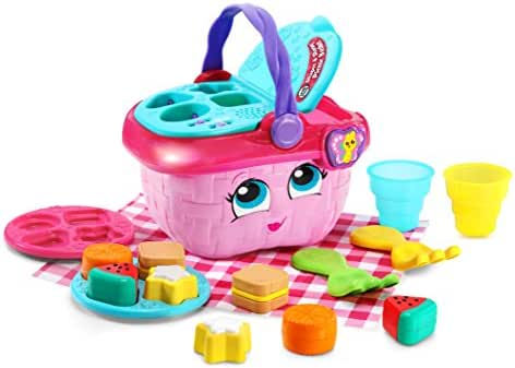 LeapFrog Shapes & Sharing Picnic Basket, Pink