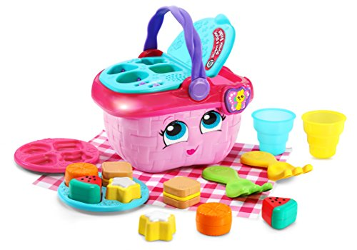LeapFrog Shapes & Sharing Picnic Basket, Pink (Good Toys For 3 Year Olds Girl)